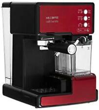 Mr. Coffee Café Barista Espresso and Cappuccino Maker Red.