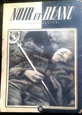 Noir et Blanc 9/05/1945;  Rauschning/ Finance Britanniques/ 44 ans Tour Eiffel