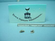 Dollhouse Miniature Drawer Pull-Half Round (2) #S3024B Town Square 1/12th Scale