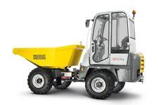 WACKER NEUSON 3001 Dumper Service , Operator's  & Parts Manual CD