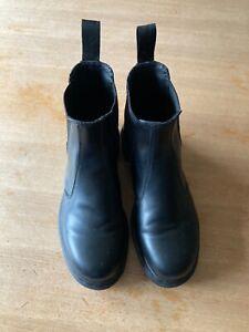 Dr. Martens schwarz 2976 Mono Chelsea Stiefel Größe UK 8. EU. 42