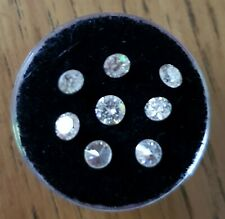 Loose moissanite Stones.
