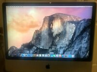 "Apple iMac Mid 2009 Core 2 Duo@3.0 GHz 8GB 1TB GB HDD 24"" OS X Yosemite/office"
