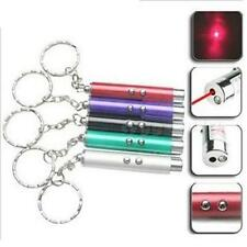 Small Mini Red Laser Pointer Pen LED w Money Detector Child Pet Cat Toy