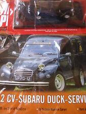 AUTO PLUS COLLECTION Citroen Ente 2CV Subaru-Duck Service Technik Museum Speyer