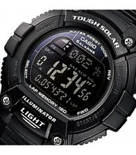 NEW! CASIO OUTGEAR TOUGH SOLAR WATCH W-S220-1B WR 100 METERS