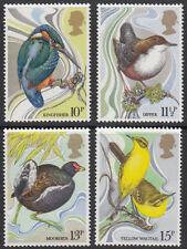 GB MNH STAMP SET 1980 Wild Bird Protection Act SG 1109-1112 UMM