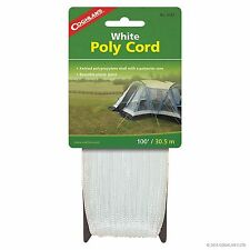 Coghlan's White Poly Cord - 100 feet - #0182 - New In Package!!