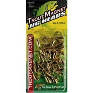 NEW    TROUT MAGNET -  HEADS 25 pc PK