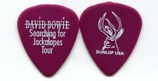 David Bowie 2002 Jackalopes Tour Guitar Pick! custom concert stage Pick #6