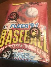 1991 Fleer Baseball O-Pee-Chee Wax Box Sealed - Super Rare - 48 Packs