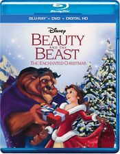 Disney's Beauty and the Beast: The Enchanted Christmas (Blu-ray/DVD, 2011)