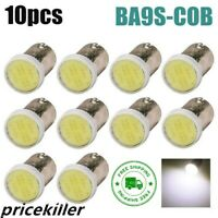 10 pcs T4W BA9S COB SMD CAR LED LIGHTS BULB KIT XENON WHITE 12V Interior Lamp &