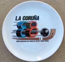 Collector Plate XXVIII Campeonato Del Mundo De Hockey Sobre Patines La Coruna