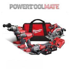 Milwaukee M18FPP5H-502B 18v 2x5.0Ah Li-ion 5 Piece Kit Power Tool Kit