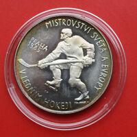 Tschechien 100 Korun 1985 Silber KM# 117 PP-Proof #F1403 Nur 2.996 Stück!!!
