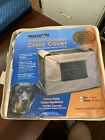 Precision Indoor Outdoor Dog Crate Cover Tan Nylon Canvas 42 inch size