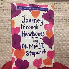 Journey Through Heartsongs by Mattie J. T. Stepanek HC DJ Illust Free Shipping