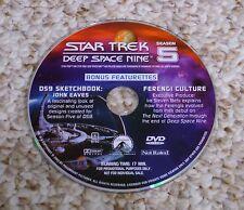 Best Buy Bonus DVD (Star Trek Deep Space Nine Season 5) DS9 Disc Ferengi Culture