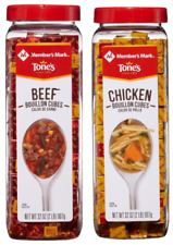 Tone's Chicken & Beef Bouillon Cubes Twin Pack