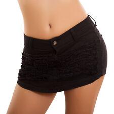 Mujer Pantalones Cortos Shorts Minifalda Rasgados Pitillo Mini Sexy Hot Nuevo
