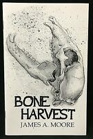 Signed Limited Edition Chapbook BONE HARVEST By James A. Moore Cemetery Dance