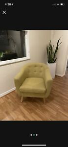 Accent Chair Green Brand New