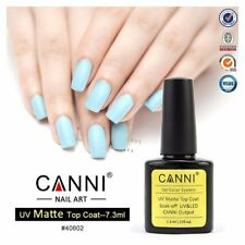 CANNI 7.3ml Gel Polish Matte Topcoat oak Off Nail Art