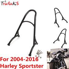 Burly Shorty Sissy Bar Bracket Back Rest FITS 04-16 Harley Sportster 883 1200 XL