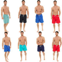 MENS MESH LINED QUICK DRY SWIMMING SHORTS GYM SPORTS RUNNING SUMMER BEACH TRUNKS