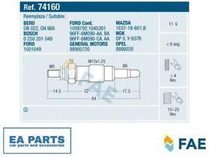 Glow Plug for FORD MAZDA FAE 74160