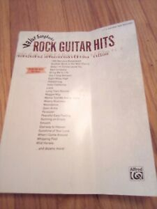 Value Songbook Rock Guitar Hits