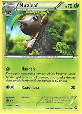 POKEMON XY STEAM SIEGE CARD - NUZLEAF 10/114