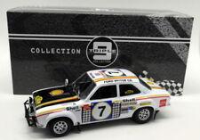 Voiture de rallye miniatures multicolore en métal blanc