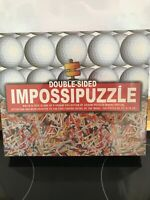 Impossipuzzle Double Sided Balls & Tees Jigsaw Puzzle - 550 Piece - New