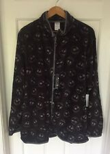 Disney Nightmare Before Christmas Jack Skellington Fleece Jacket Large