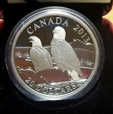 2013 $20 Fine Silver The Bald Eagle : Lifelong Mates