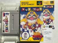 Mario & Wario boxed Nintendo Super Famicom SNES SFC Japan JP Game