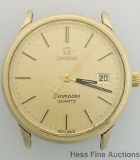 Genuine Omega Seamaster Vintage Date Mens Wrist Watch
