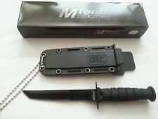 "MTech ""Special Issue"" Fixed Blade - Black Tanto New MT632TB"