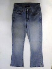 Pash Shake Jeans Hose Schlaghose Hellblau Stonewashed W28 L32
