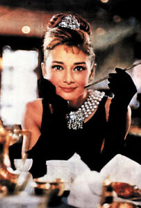 Breakfast at Tiffany's Audrey Hepburn Movie poster print #2