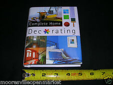 NEW Complete Home decorating book Hardcover Small Book (English) 2005 Parragon