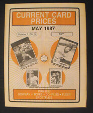 1987 Mike Schmidt Phillies Baseball Sports Memorabilia Current Card Prices AD