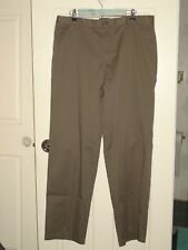 Dockers Men's Size 38x34 Brown Classic Fit Casual Pants 80-12401