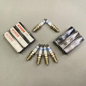 Set of 6 OE Double Iridium Spark Plugs 9605 For Ford Lincoln Mazda Mercury