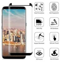 For Samsung Galaxy S8 Plus Note 8 Tempered Glass Full Cover Screen Protect