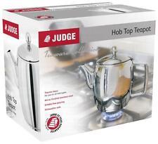 Judge Hob Top Teapot - 1.3 Litre Great for Aga Rayburn Everhot use.