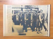 Vintage Wire Press Photo Libya Bombing Washington President Ronald Reagan