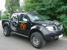 FENDER FLARES / ARCH EXTENSIONS COMPATIBLE WITH NISSAN NAVARA D40 ( 2005-2010 )